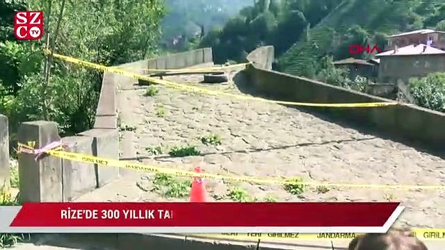 300 yıllık köprü restorasyondan sonra yıkıldı