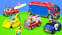 Paw Patrol Toys Unboxing Movie for - kids - children - boys - kids - children - boys - baby-: Fire 'truck's, Police Car, Ambulance - Excavator