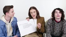 Millie Bobby Brown Finn Wolfhard  Noah Schnapp Answer the Webs Most Searched Questions  WIRED