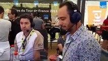 Tour de France : Christophe Mengin, le maillot Bleu de la 5e étape