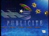 La 5 - 21 Juillet 1990 - Teasers, publicités