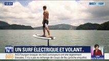 Cette planche électrique et volante vous fera apprécier les joies du surf... même sur un lac