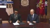 Eder Militao firma su contrato con el Real Madrid