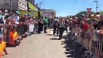 Tour de France à Saint-Dié : petit tour au milieu de la foule