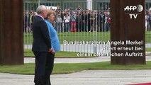 Merkel zittert erneut bei öffentlichem Auftritt