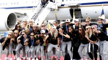 USWNT parades through NYC after World Cup championship win
