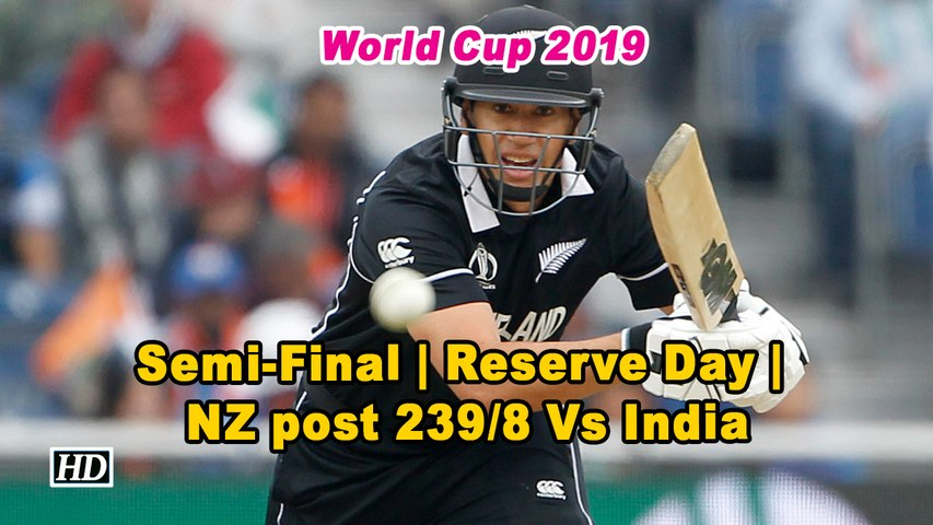 World Cup 2019 | NZ struggle to 239/8 as India bowlers come to party