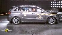 VÍDEO: Mercedes Clase B 2019, así es su nivel de seguridad 5 estrellas