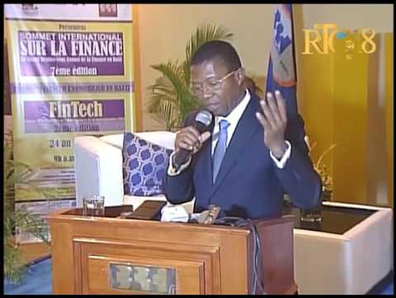 L'intevention du gouverneur de la BRH Jean Baden Dubois sur la situation économique du pays