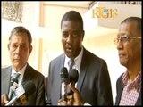 Rencontre entre la Fédération Nationale des Maires haïtiens , l'Ambassade de Suisse et la PNH