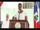 La Première Dame de la République, Martine Moïse a participé à l'inauguration de la maternité SONUB