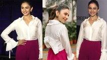 Rakul Preet Singh looks beautiful at Mumbai event; Watch Video | FilmiBeat