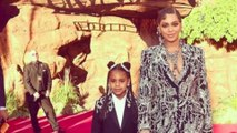 Beyonce and daughter Blue match in sparkling outfits for 'The Lion King' premiere