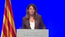 Budó enmarca en la represión la entrada de la Guardia Civil en departamentos de la Generalitat