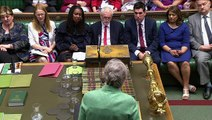 May challenges Corbyn on anti-Semitism