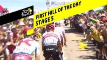 Premier sommet de la journée / First hill of the day - Étape 5 / Stage 5 - Tour de France 2019