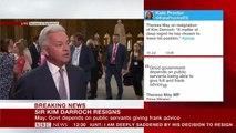 Alan Duncan says Boris Johnson threw Sir Kim Darroch under the bus