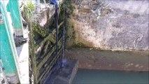 VNF vide une écluse à Revigny-sur-Ornain