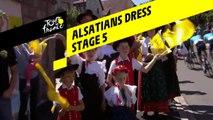 Robes alsaciennes / Alsatians dress - Étape 5 / Stage 5 - Tour de France 2019