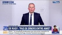 François de Rugy se justifie en précisant qu'il n'a utilisé qu'1/3 du budget annuel de réception depuis qu'il est ministre de la Transition écologique