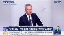 """Dîner de la Saint-Valentin: François de Rugy assure que """"ça n'a pas coûté un euro à l'Assemblée nationale"""""""