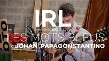 "Johan Papaconstantino reprend ""Les Mots bleus"" de Christophe en live"