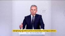 """François de Rugy dénonce une """"présentation très tendancieuse"""" de Mediapart"""