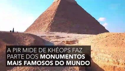 A grande pirâmide de Gizé revela um poder inesperado aos cientistas