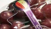 Japon : une grappe de raisin vendue 10000€ aux enchères
