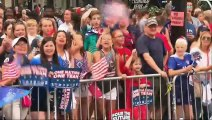 Victorious U.S. team feted with ticker tape parade through New York City