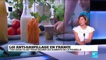 """Loi anti-gaspillage en France : """"1/3 de la nourriture produite dans le monde est gaspillée"""""""