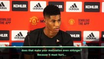 City and Liverpool's success gives United more motivation - Rashford