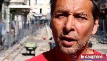 50 squelettes découverts rue de la République à Grenoble