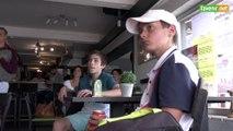L'Avenir - Le match Goffin Djokovic avec sa coach