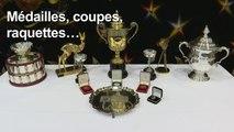 Les trophées de Boris Becker mis aux enchères