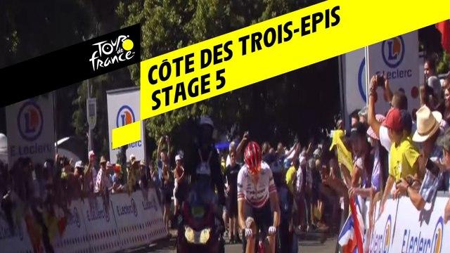Côte des trois-épis - Étape 5 / Stage 5 - Tour de France 2019