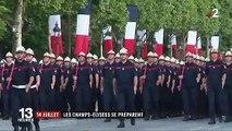 14-Juillet : dernières répétitions sur les Champs-Élysées