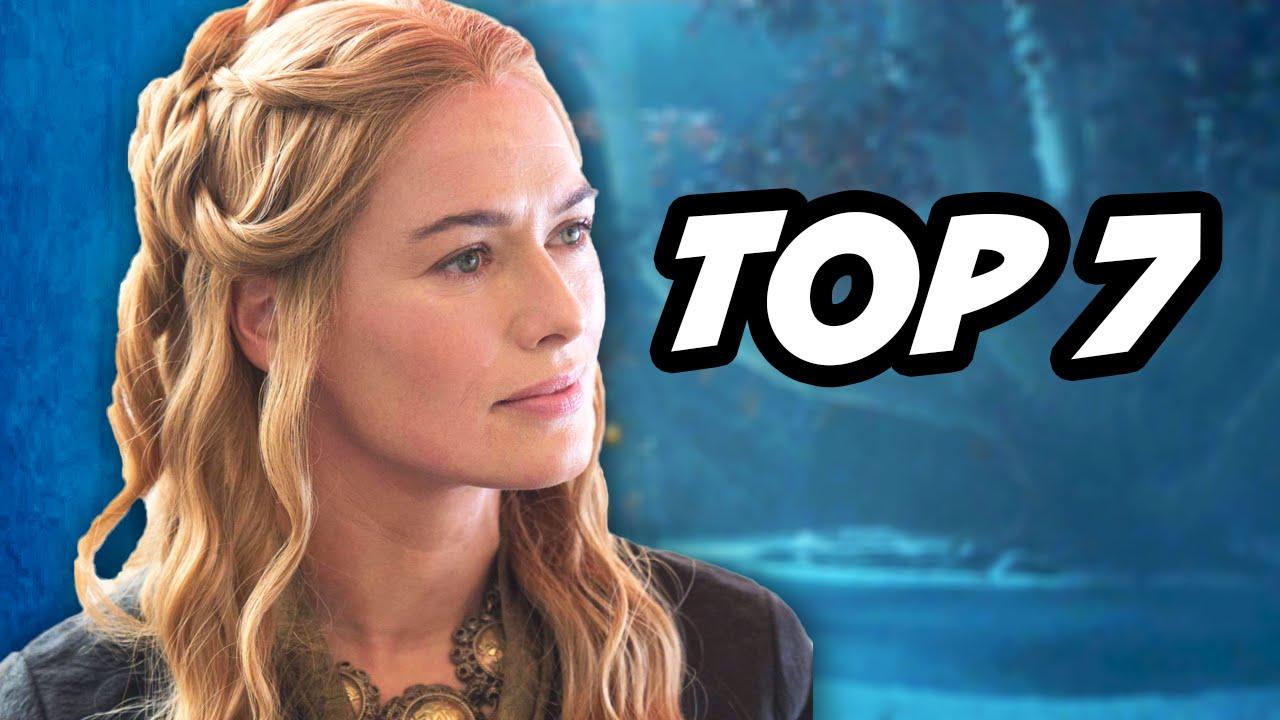 Game Of Thrones Season 5 Episode 7 - TOP 7 WTF