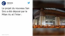 Football : Le Milan AC et l'Inter proposent la construction d'un nouveau stade
