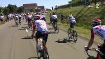 Tour de France : le Français Tony Gallopin se prend un parasol dans une roue lors de la 5e étape