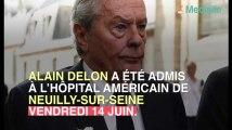 Alain Delon hospitalisé suite à un malaise