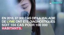 Maladie de lyme, le nombre de cas explose en 2018