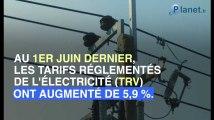 Nouvelle augmentation des prix de l'électricité pour le mois d'août