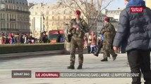 Ressources humaines dans l'armée : le rapport du Sénat