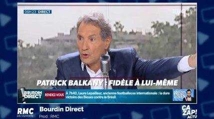 Jean-Jacques Bourdin s'en prend à Patrick Balkany