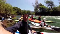 La vidéo de soutien d'Estanguet  au club de kayak de Metz