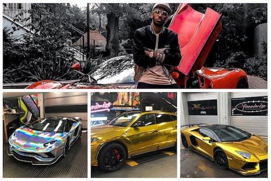 L'hallucinante collection de supercars de Pierre-Emerick Aubameyang