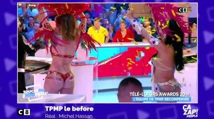 Des danseuses brésiliennes font monter la température sur le plateau de TPMP