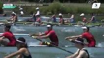 Championnat de France J16 Bateaux longs Libourne 2019 - Finale du huit barré hommes J16H8+