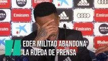 El nuevo fichaje del Madrid lo pasa realmente mal en su presentación y abandona la rueda de prensa